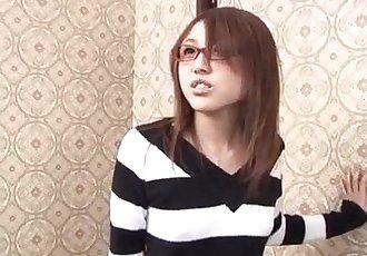 公鸡 吸吮 Rino 水泽 惊讶 在 纯粹的 礼貌 - 12 min