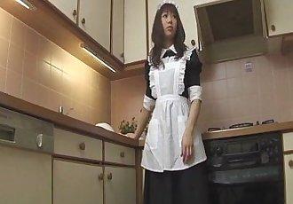角质 Aiuchi 诗织 最疯狂的 食品 插入 动作 - 8 min