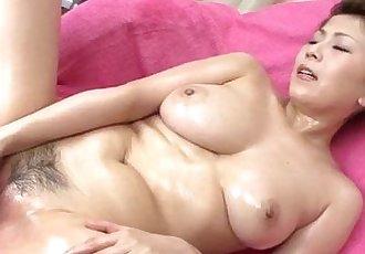 Yuki Aida enjoys pussy stimulation on cam - 12 min
