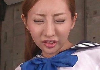 振动器 动作 和 满嘴 的 暨 Aihara Erena - 8 min