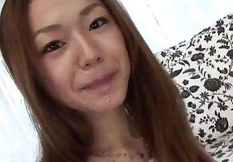 琪 Hayakawa 驚人的 pov 吹簫 上 cam - 10 min