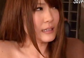 Momoka Nishina nude modeling suck her boss. Full Video http://zo.ee/1MC - 3 min