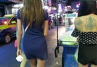 泰国 女孩 - gogo 舞蹈演员 vs 酒吧 女孩 哪 都 更好的 隐藏 摄像机 - 泰国 - 11 min