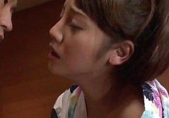 Rei 水 亚洲 妻子 钻孔 在 真的 热 礼貌 - 12 min