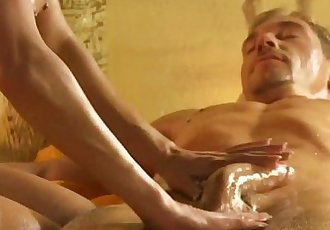 Exotic Lust And Blonde Massage - 11 min HD
