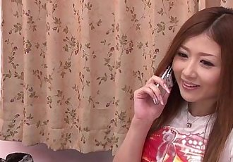 Japanese Babe fingers her pussy - 7 min HD