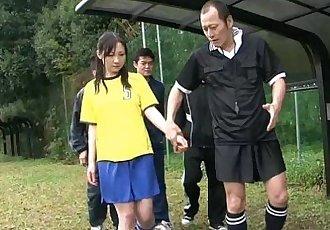 japanhdv 赤裸裸的 足球 杯 場景 拖車 - 55 sec