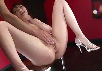 Dazzling oral play for Tomoka Sakurais pussy - 12 min