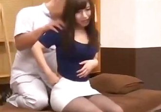 Innocent Asian Girl in Session Bad Massage - 8 min
