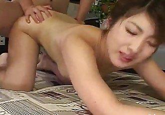 日本 av 模型 忍受 大 公鸡 在 她的 毛茸茸的 娘们 - 10 min