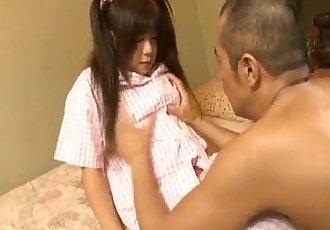四野 Nakamura 获取 暨 上 搞砸 剃光 裂纹 从 吸 公鸡 - 10 min