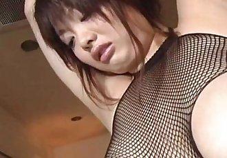 Rough hardcore along superb Sakura - 8 min