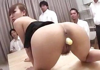 安娜 Mizukawa 抽 和 做 要 吞下去 新鮮的 每次妳站 - 10 min