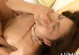 Milf takes on two lustful fellows - 5 min