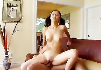 Adorable Tia Tanakas Pussy Fights Big Bull!