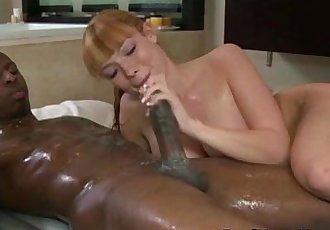 Asian masseuse blowjob facial - 5 min