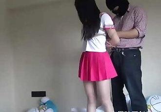 Chinese Schoolgirl Tied Up