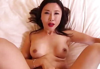 Naughty asian MILF cheating husband in hotel room.mp4