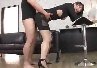 ASIAN GIRL FUCKED THROUGH CLOTHES