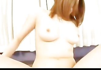 Big titty Riana Natsukawa has her pussy filled with meat