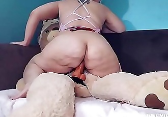 Play Time with KiwwiTeddy Bear Fuck! 13 min HD