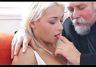 Old guys fuck young TeenFresh Pussy for them Compilation 19 min HD