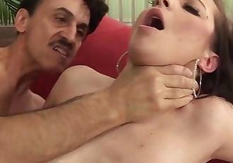 Teen Slut Seduces Much Older Man