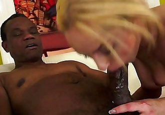 Old black dick in a young pussyHD