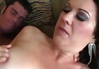 Busty Mom Raquel Devine Couch Sex With Young Lover 12 min HD