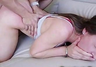 Small Teen Got a Rough Punishment!