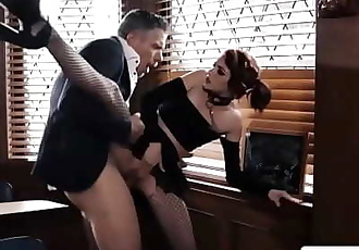 Goth School-Girl Gets Ass-Fucked in DetentionLola Fae 6 min 720p