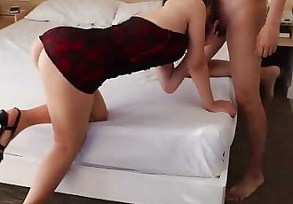 asian slut picked up from night club bring back to hotel to fuck