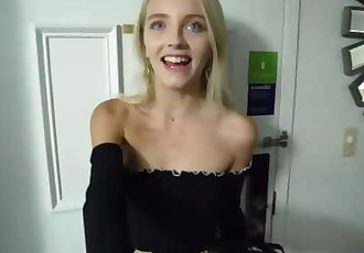 Private Casting X - Kate Bloom - Petite blonde fuck audition