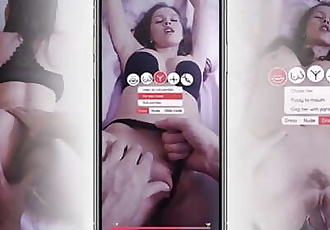 Unique interactive Mobile sex game with Stacy Cruz !