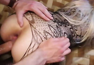 Little Bitch Asks to Stop, but I Continue Pushing her ANAL! A2P Painanal