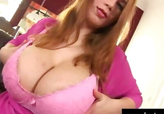 Huge Titted Young Lea Toying her Pussy