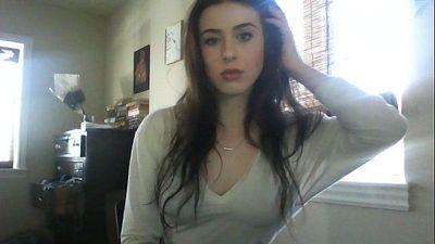 Selfie182 beautiful girl show nice nipple piercing - 38 sec