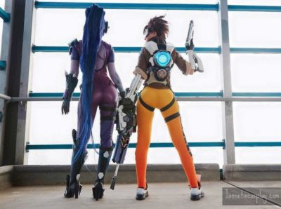 Widowmaker and Tracer - part 3