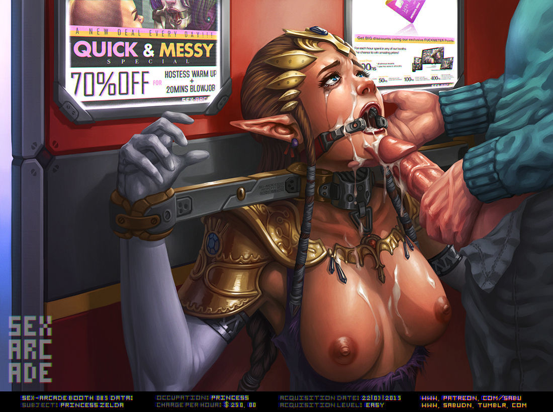 Sex Arcade by Sabudenego - part 3