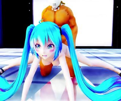 3D MMD Hatsune Miku Loves to Fuck & Dance - Apple Pie