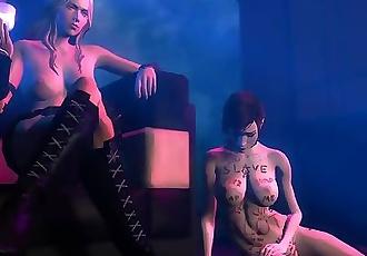 Mass Effect Fallen Heroine - Kamadeva
