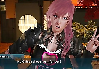 Final Fantasy Lightning POV Sex Scene