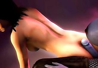 Super Big ass hentai xxx 3d porn game