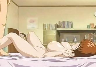 Busty Anime School Student Titfuck - 2 min