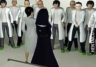 3D hentai nun in stockings dildo twat - 5 min