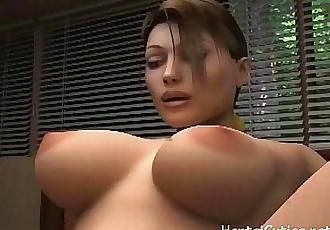 3D cartoon whore fucked hard - 5 min