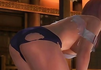 Dead or alive 5 Honoka wardrobe malfunction ass exposure after the fight !