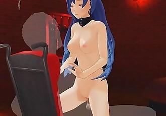 Hyperdimension Hentai - Iris Heart fucks her master