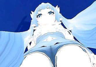 Giantess MMD - Lulu is not a Pokemon!