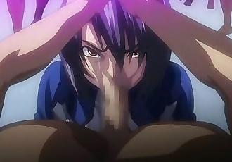 Kangoku Senkan/ Taimanin Asagi Blowjob -